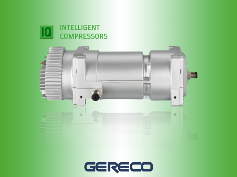 Semi-hermetic scroll compressors with frequency regulation