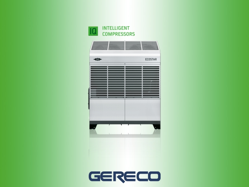 Semi-hermetic condensing units with frequency regulation